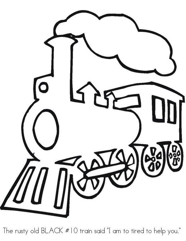 Thomas Train Engine Coloring Sheet, Thomas, Free Engine