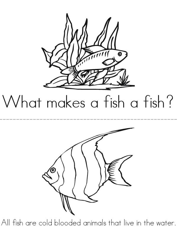 Marine Science Coloring Book