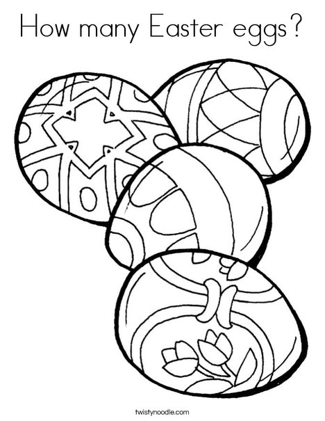 Coloring Pages Fried Eggs