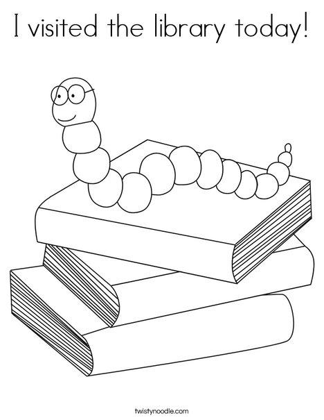 Earthworm Coloring Sheet