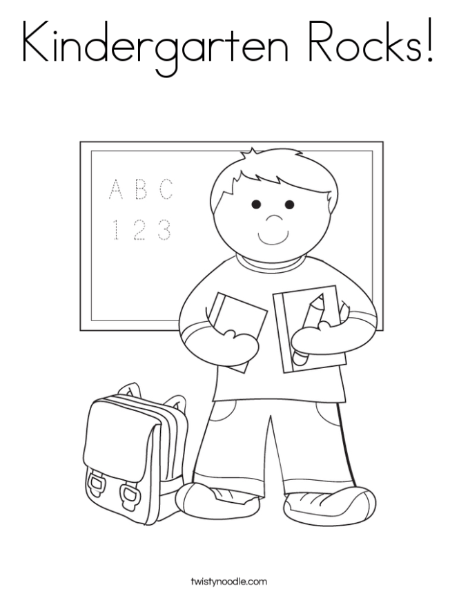 coloring pages kindergarten | Coloring Page for kids