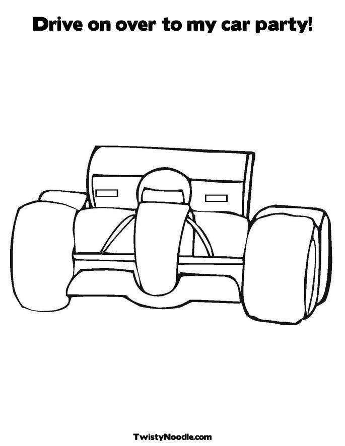 Coloring Page Tire