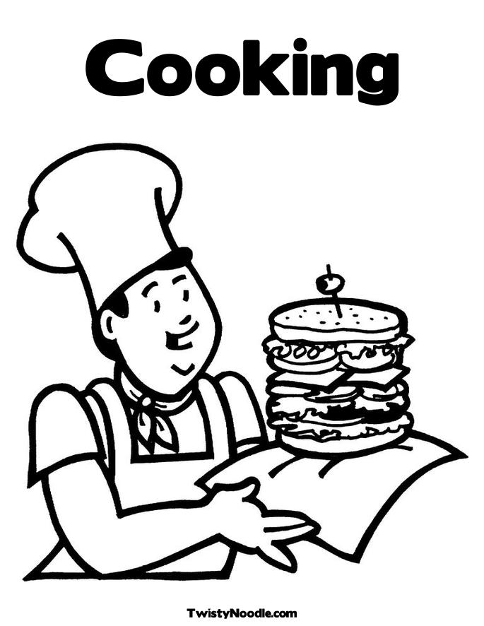 ingredients coloring pages