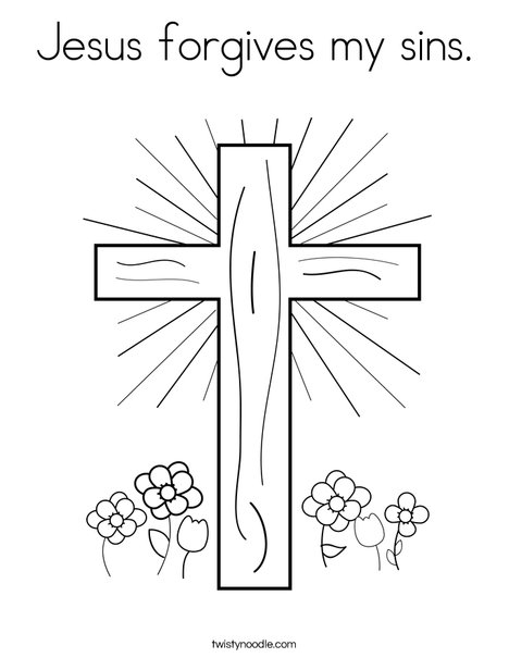 coloring pages jesus # 17