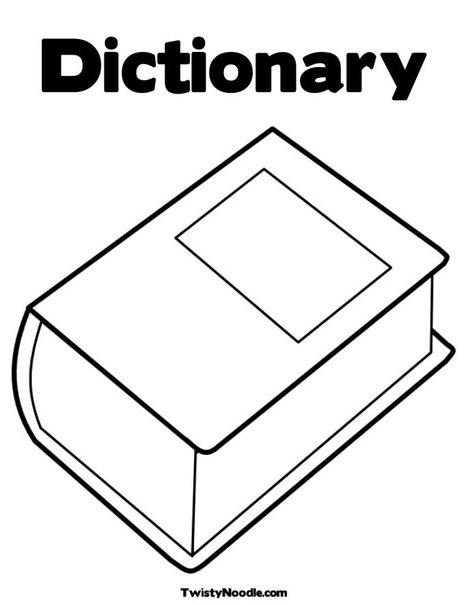 Vocabulary Coloring Pages Coloring Pages