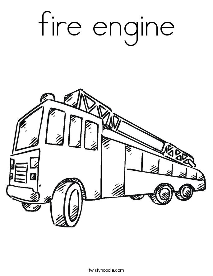 Hot Fire Engine, Hot, Free Engine Image For User Manual