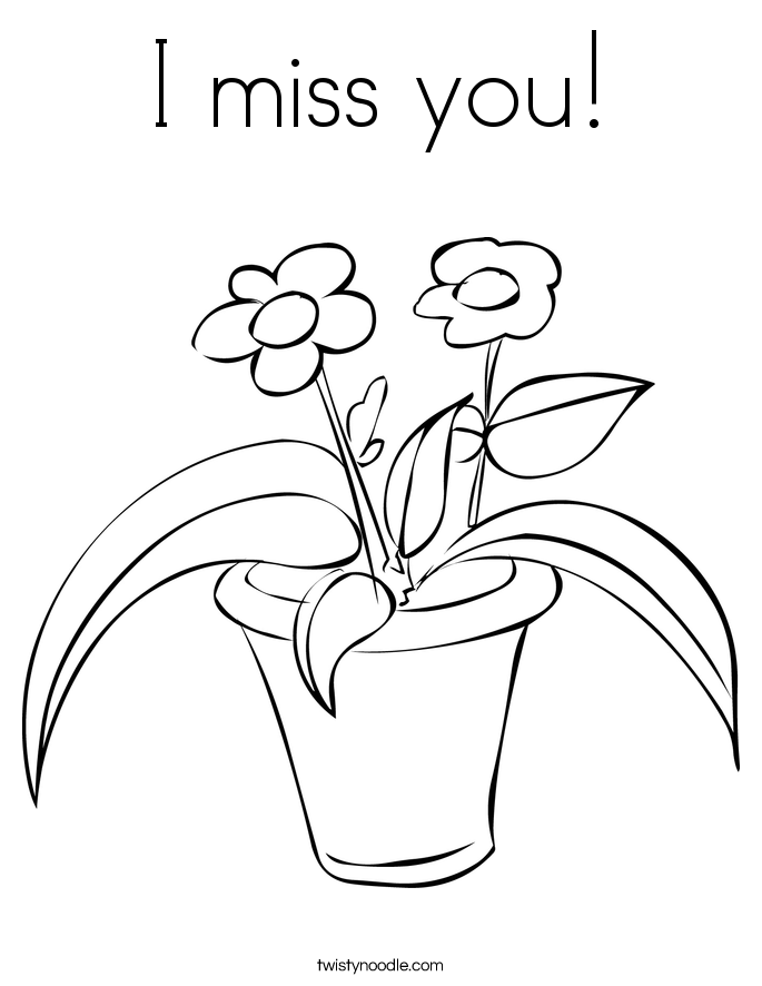 Feel Better Soon Coloring Page