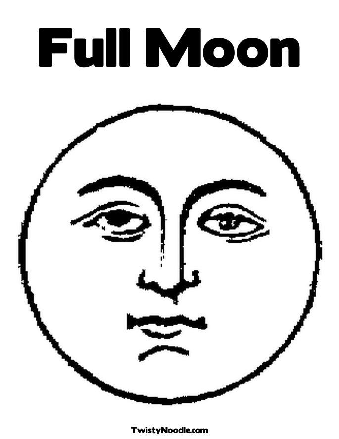 Full moon on Pinterest