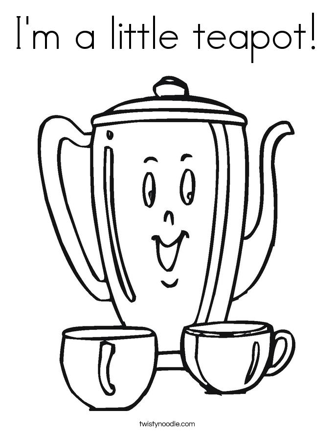 Tea Sketch Templates