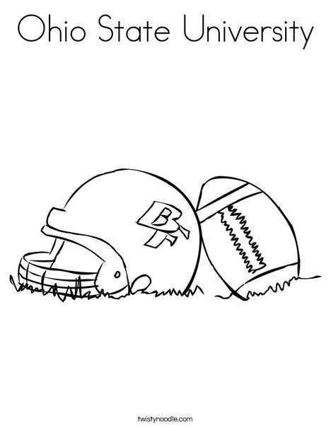 ohio state coloring pages # 11