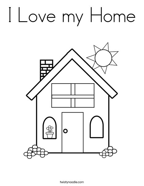 I AM Thankful for My HOme ~ Nursery Manual 1 ~ LEsson 31