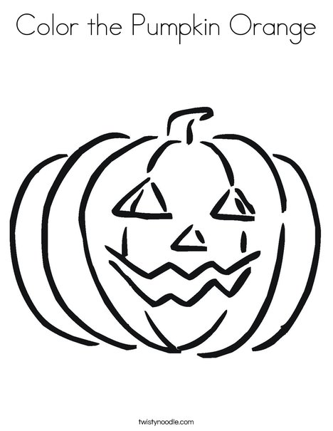color orange coloring pages | Coloring Page for kids