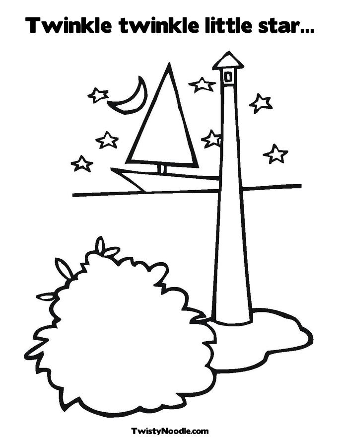 Pin Lighthouse Coloring Pages Beach on Pinterest