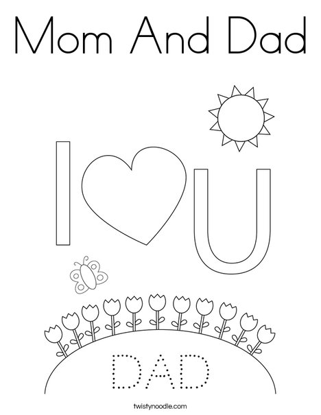 Mommy Clipart Daddy