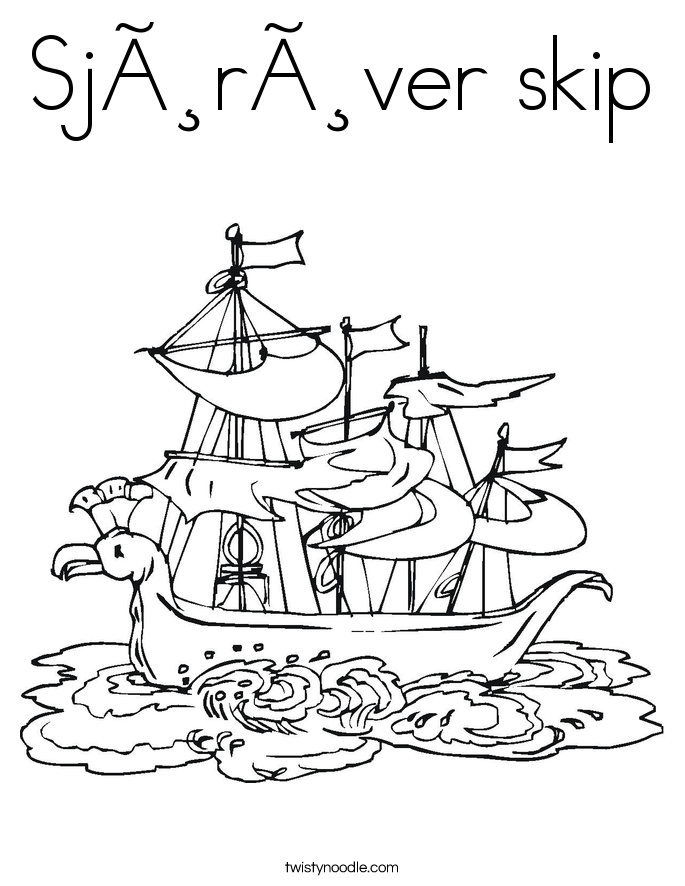 X Marks The Spot Coloring Page