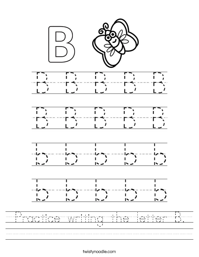 Full Page Block Letters