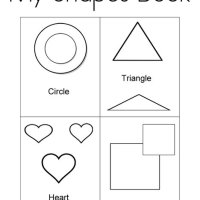 Free Shapes to colour in