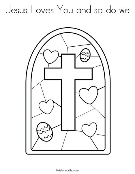 jesus on the cross coloring page # 32