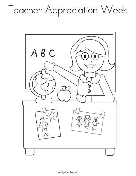 teacher appreciation coloring pages # 21