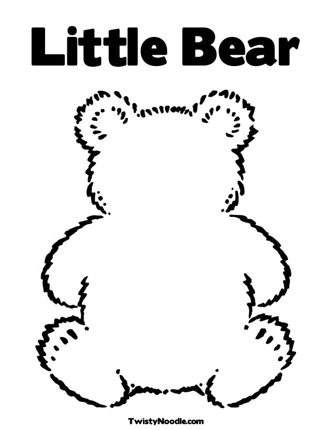Three Little Bears Coloring Pages Home Sketch Coloring Page