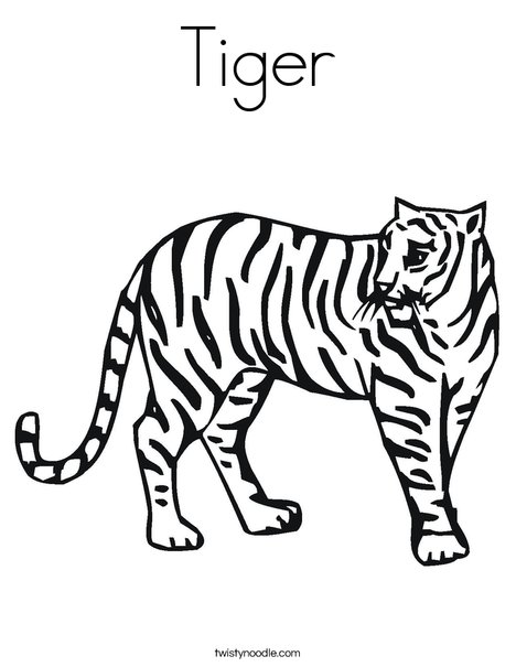 Coloring Page Of A Tiger Lion Coloring Page Pages Tigers