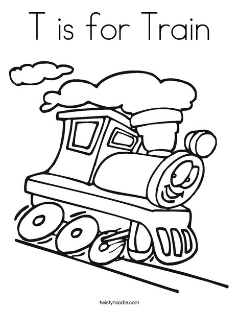 train coloring pages # 58