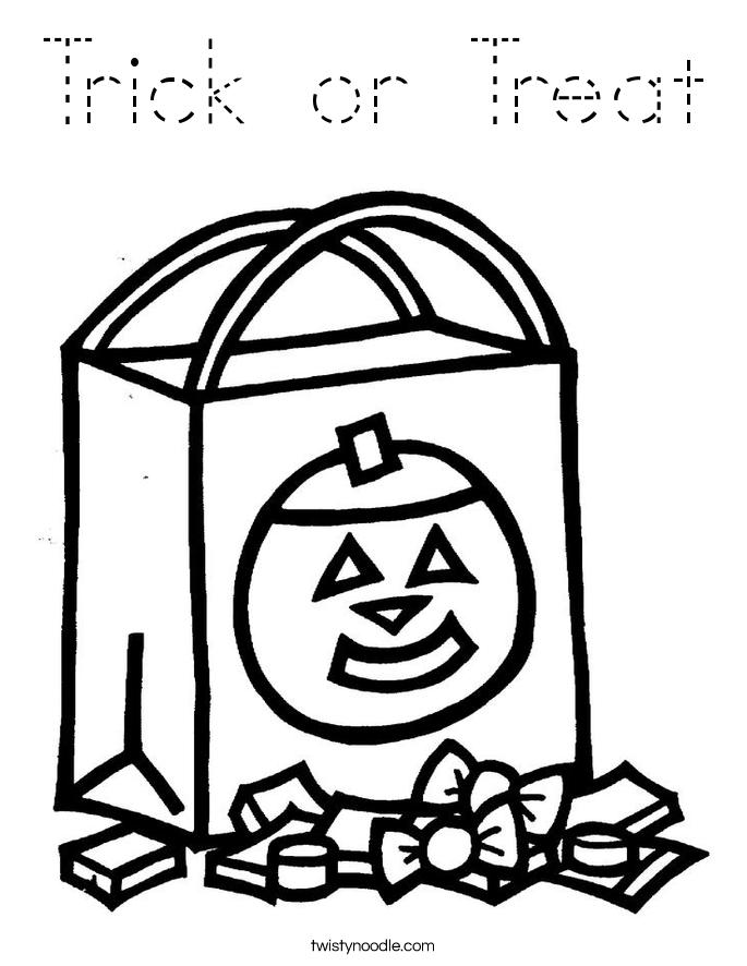 Halloween Treat Bag Ideas Pinterest