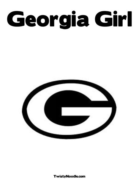 ga girl Colouring Pages