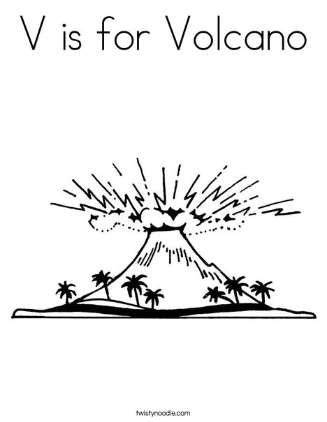 Volcano Pictures To Print