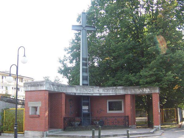 Pomnik ofiar NKWD w Rembertowie.