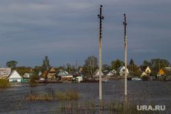 The Ishim flood of 2017. Tyumen region, ishim, flood, lonely, high water
