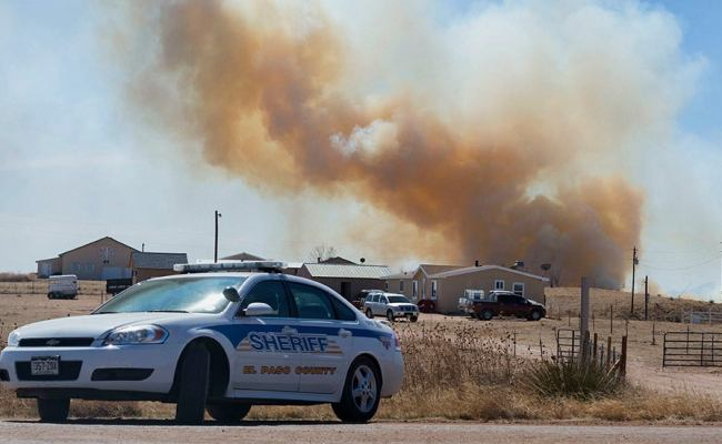 Residents Return Home As Crews Contain Fort Carson Blaze