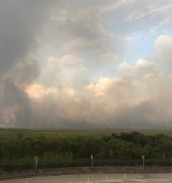 everglades fire covers 50 square miles alligator alley temporarily shut down [ 1692 x 952 Pixel ]