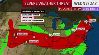 Image result for Residents in Midwest, central Plains on alert for severe thunderstorms ...Tornadoes