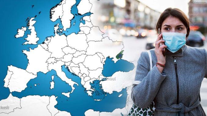 Karte der Ausbreitung: Coronavirus in Europa auf dem Vormarsch ...