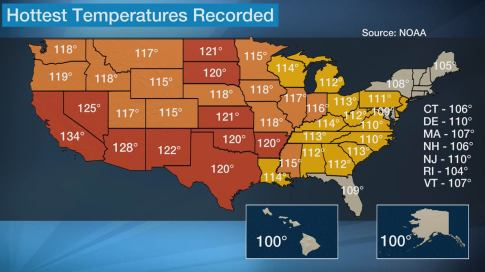 Think It's Hot Now? Here Are the Hottest Temperatures Ever ...