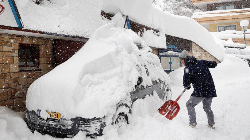 Major Northeast Snowstorms Have a Distinct Seasonal Peak ...