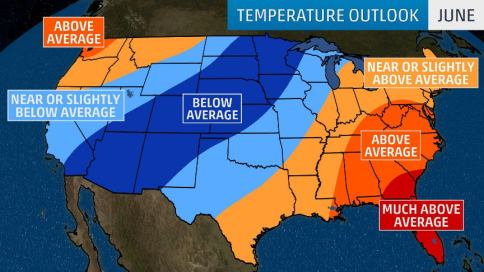 Summer 2019 Temperatures Expected To Be Hot In The East