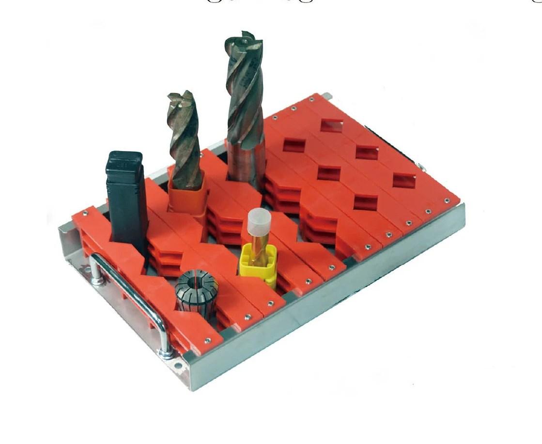 活動式工具架 / ~活動式工具架 ~可隨意調整.輕鬆收納可收納19~45mm / 聯穎塑膠-塑膠盒.格盒.螺絲盒.工具盒