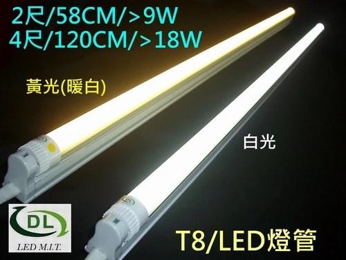 LED燈管T8超質平價18W-4尺-T24 / 新北市永和區-夢想地 / 臺灣黃頁詢價平臺