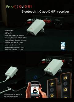 藍芽4.0 aptX HiFi接收器 / 臺北市南港區-瀚亞國際 / 臺灣黃頁詢價平臺