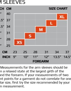 For  size guide click here also wiggle xu pwx compression arm sleeves internal rh