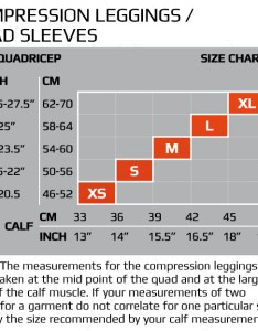 xu pwx compression quad sleeves for  size guide click here also wiggle leg rh