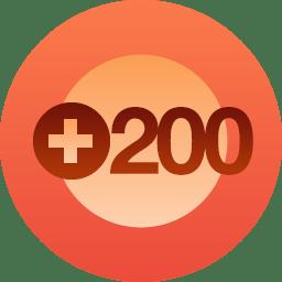 200 Follows!