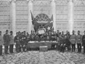 Young Turk Revolution Declaration - Armenian, Greek & Muslim Leaders