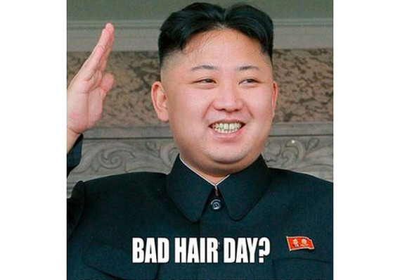North Korea Sees No Joke In Kim Jong Uns Hairstyle The