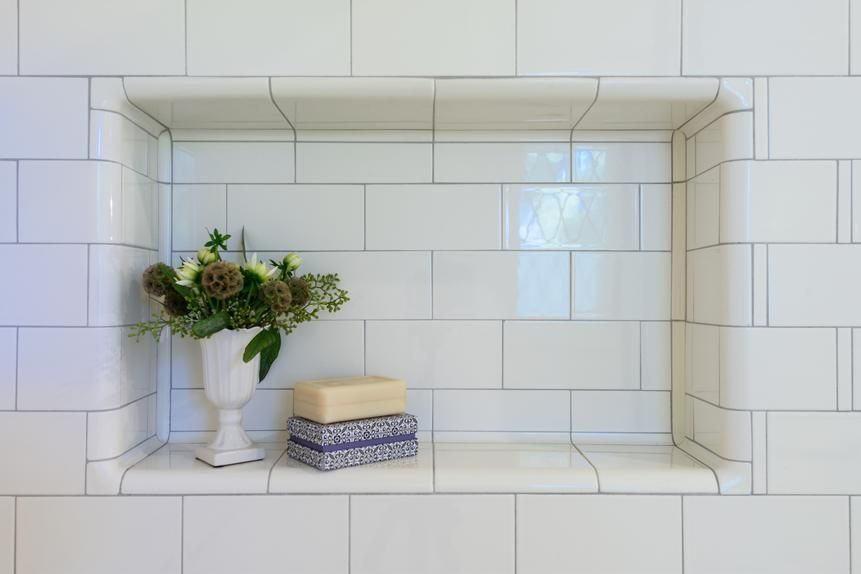 classic intricately tiled bathroom