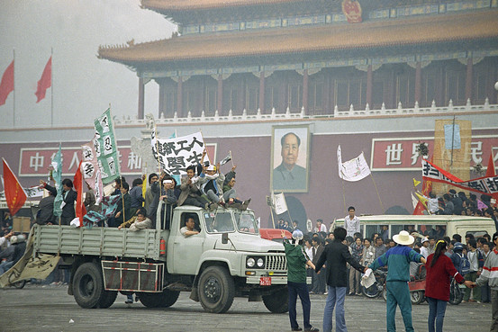 Image result for 1989 – The Chinese authorities declare martial law in the face of pro-democracy demonstrations, setting the scene for the Tiananmen Square massacre.