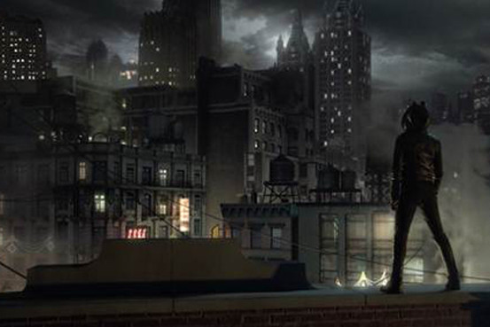 Batman Beyond 3d Wallpaper The Gotham Skyline It S New York But Lost In Time