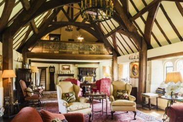 Modern Updates on a Medieval Home WSJ